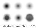 halftone pop art isolated 76366275