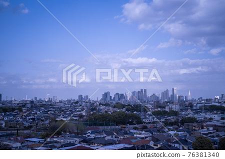 tokyo, shinjuku, city 76381340