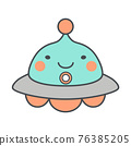 ufo, unidentified flying object, character 76385205