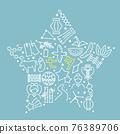 star festival, vector, vectors 76389706
