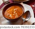 Castilian garlic soup 76392233