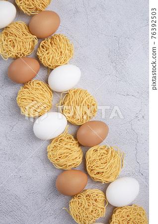 raw egg noodles 76392503