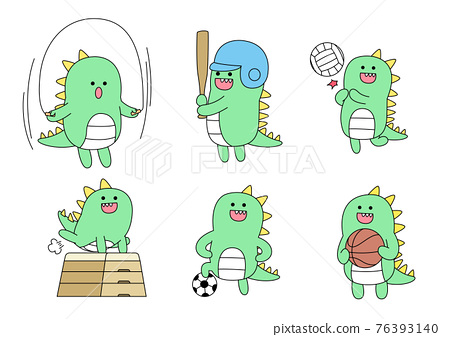 education themed green monster student drawings 76393140