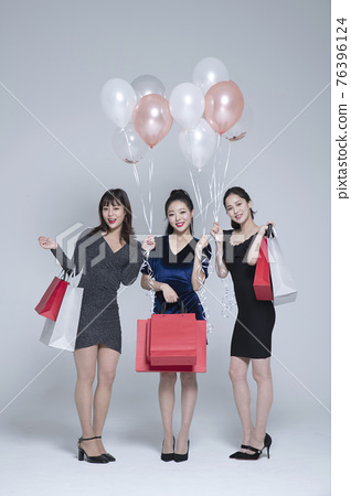 girls, ladies party concept 76396124