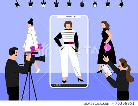 untact online video job interview 76396851