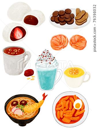 Korean winter desserts 76398032