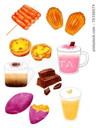 Korean winter desserts 76398074