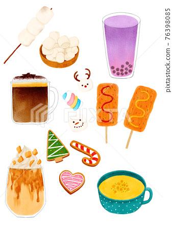 Korean winter desserts 76398085