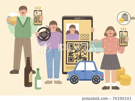 mobile citizen registration card 76398101