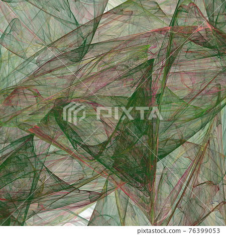 Fractal gravel. Abstract colorful picture 76399053