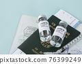 travel life after Covid19 vaccine concept 76399249
