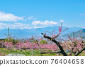 야마나시 현 봄의 도원 향 도원 석가 당 PA 지역 76404658
