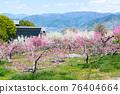 야마나시 현 봄의 도원 향 도원 석가 당 PA 지역 76404664