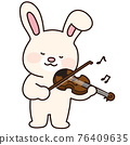 rabbit, animal, animals 76409635