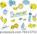 夏天 夏 一套 76413743