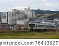 local line, diesel car, town areas 76413927
