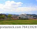 local line, diesel car, rural 76413928