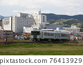 local line, diesel car, carriage 76413929