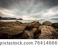 The Lerici town in winter - Tourist Resort in the Gulf of La Spezia Liguria Italy 76414666