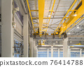 Overhead crane for manufacturing production plant. 76414788