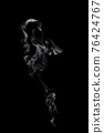 movement of smoke on black background, smoke background, abstract smoke  76424767