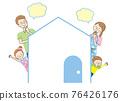 미소의 가족과 간단한 집 76426176