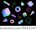 quadrilateral, colorful, colorfull 76432144