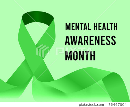 Mental Health Awareness Month vector illustration 76447004
