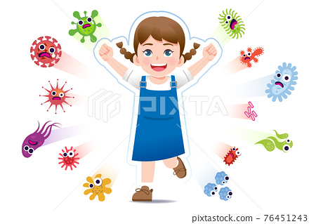 European girl have a immune to certain bacteria and viruses. 76451243