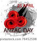 Anzac day concept 76452598