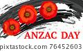 Anzac day concept 76452603