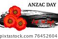 Anzac day concept 76452604