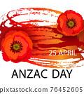 Anzac day concept 76452605