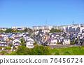 安靜的住宅區位於日本郊區 76456724