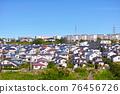 安靜的住宅區位於日本郊區 76456726
