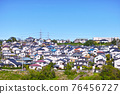 安靜的住宅區位於日本郊區 76456727
