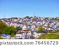 安靜的住宅區位於日本郊區 76456729