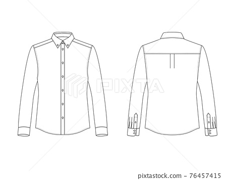 men's clothing, men's wear, shirt 76457415
