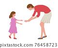 父母和小孩 親子 媽媽 76458723