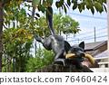 Statue of Fushimi Inari Taisha 76460424