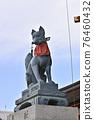 fushimi inari-taisha, tower gate, two-story gate 76460432