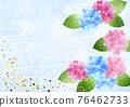 繡球花 底圖 背景 76462733