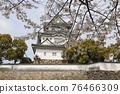 벚꽃과 기시와다 성 76466309