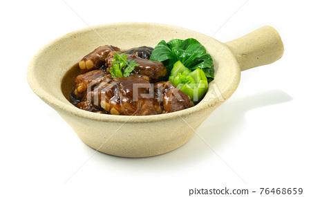 Clay Pot Braised Pork Ribs Chinese Food Hongkong Style 76468659