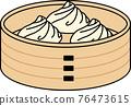 矢量 小籠包 illustration 76473615
