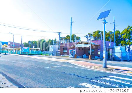 station, train station, landscape 76475107
