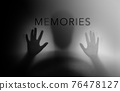 Conceptual Photo. Motion Blurred image of Senior Elderly Person who as Parkinson or Alzheimer Disease. Memory Loss from Dementia. Brain Function Decline 76478127