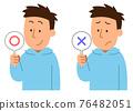 錯誤答案 x和o 男人 76482051