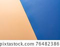 Blue and orange color background 76482386