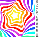 Abstract geometric multicolored background 76483046